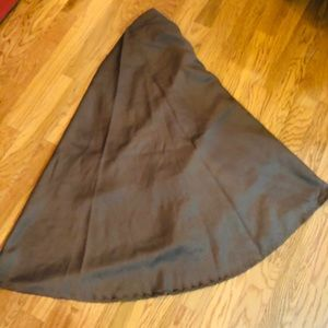 """2! Mocha brown tablecloths 70"""" round"""